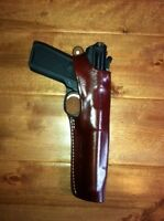 Brown Leather Holster Ruger Mark I Ii Iii Iv With 5 1/2 Inch Barrel 9259