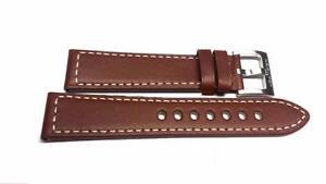 HAMILTON-Originale-Cinturino-in-Pelle-Marrone-20mm-H600-704-104-H600704104-per-H644510