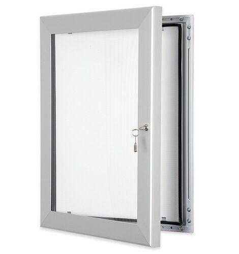 not Pinnable with Waterproof Seal 15xA4 A0 External Lockable Notice Board