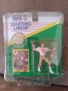 1991 Joe Montana Starting Lineup Figure San Francisco 49ers 1991 SLU
