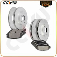 Powerstop Brake Disc and Pad Kits 4-Wheel Set Front /& Rear New for Olds KOE2761