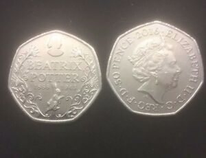 BEATRIX-POTTER-ANNIVERSARY-50p-very-collectable