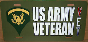Specialist-5-E-5-US-Army-Veteran-OD-Green-Aluminum-License-Plate-Made-in-USA