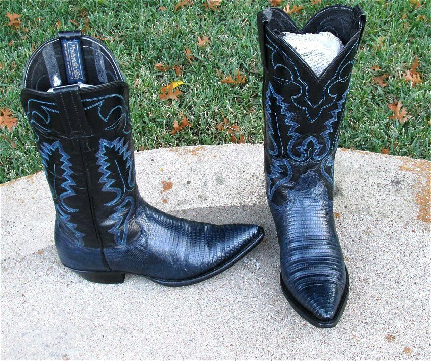 Cowgirl Panhandle Slim Lagarto botas Damas 5'B