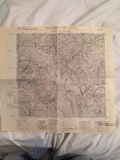 Cartina Militare Dell'ex Comune Di S. Martino Dei Calvi (bg) Anno 1936