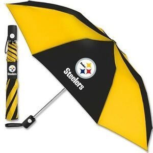 PITTSBURGH-STEELERS-Official-NFL-42-Inch-Standard-Size-Rain-Umbrella-New