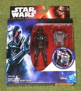 Star Wars The Force Awakens Armor Up First Order Tie Fighter Pilot Action Figure