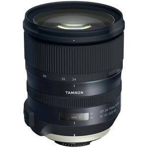 Tamron SP 24-70mm f/2.8 Di VC USD G2 Wide Angle Lens for Nikon F (AFA032N-700)