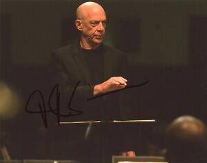 JK-SIMMONS-Authentic-Hand-Signed-034-WHIPLASH-034-8x10-Photo-PROOF-E