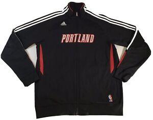 Portland-Trailblazers-NBA-Warm-Up-Track-Jacket-XL-by-Adidas