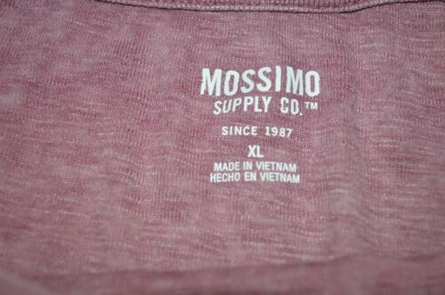 New Women/'s Mossimo Black Cherry Long Sleeve Top Size Small /& X-Large