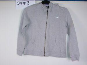 36c4e8e3a85 Image is loading 90s-00s-champion-hooded-grey-sweatshirt-sweater-jumper