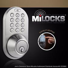Electronic Keyless Entry Keypad Deadbolt Door Lock DF-02SN