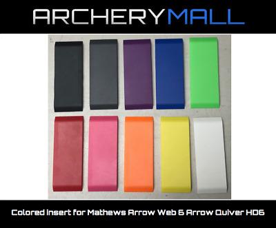 Colored insert for Mathews Arrow Web 6 Arrow Quiver HD6