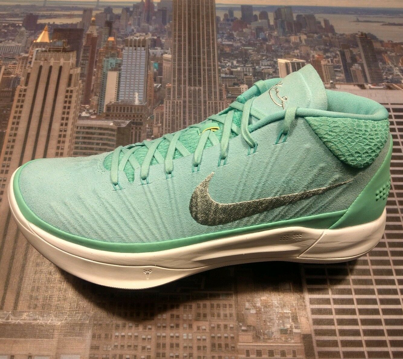 Nike Kobe AD A.D. TB Promo Unreleased Mint Mint Mint Silver-White Size 8.5 942521 305 New 86c076