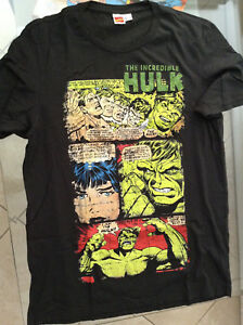 INCREDIBLE-HULK-CLASSIC-PAGE-T-SHIRT-L-40-NEW-SOLD-OUT-DESIGN-AVENGERS-DEFENDERS