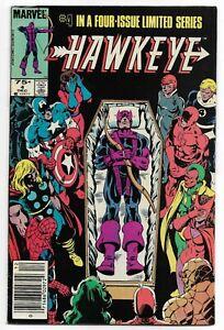 Hawkeye-4-Limited-Series-Marvel-1983-FN-VF-Canadian-Price-Variant