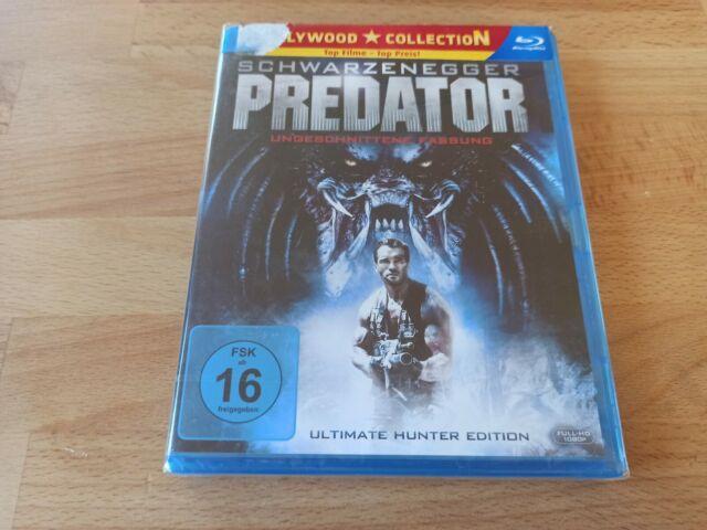 Predator - Uncut - Schwarzenegger - Bluray Disc Film