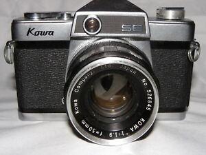 Kowa Se Spiegelreflexkamera Mit Kowa 1:1,9 F=50mm Um Eine Hohe Bewunderung Zu Gewinnen Und Wird Im In Analogkameras Und Ausland Weithin Vertraut.
