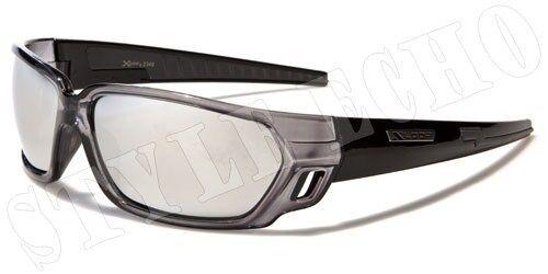 X-Loop Wrap Design Mens Sports Goggle Sunglasses New Outdoor Shades
