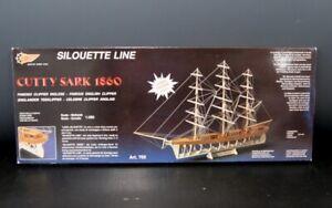 Mantua-034-Silhouette-Line-034-Cutty-Sark-Tea-Clipper-Model-Art-765-NOS-L-1880