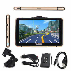 7-034-Car-8GB-GPS-PKW-LKW-Truck-Auto-Navi-Navigationsgeraet-Navigation-MP3-MP4-FM