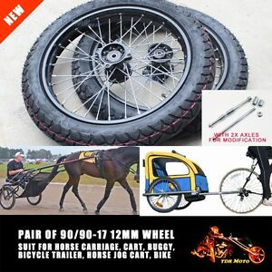 Sulky Wheels Tyre Inner Tube Harness Racing Horse Carriage Jog Free