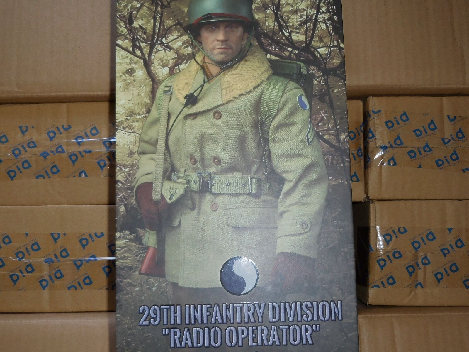 DID BOX FIGURE 29TH INFANTRY DIVISION RADIO OPERATOR PAUL 1/6 ACTION FIGURE TOYS