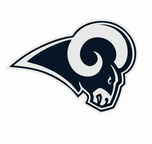 """Los Angeles LA Rams NFL Vinyl Decal Sticker Reflective OFFICIAL NFL 3"""" Decal"""
