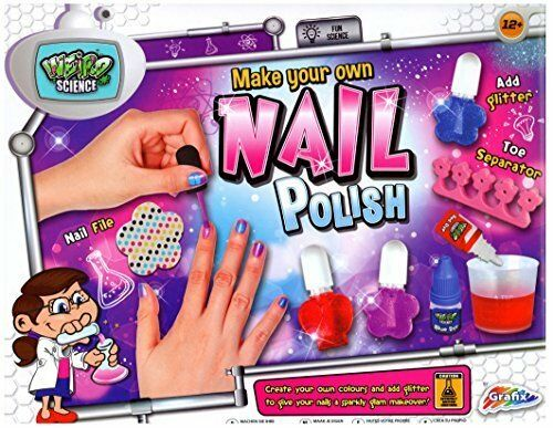 Christmas Gifts For Girls Age 12.Grafix Weird Science Make Your Own Nail Polish Age 12 Christmas Gift