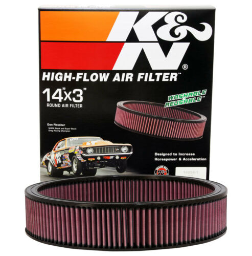 KN Round Replac 1966-84 V8 E-1650 K/&N Replacement Air Filter GM CARS /& TRUCKS