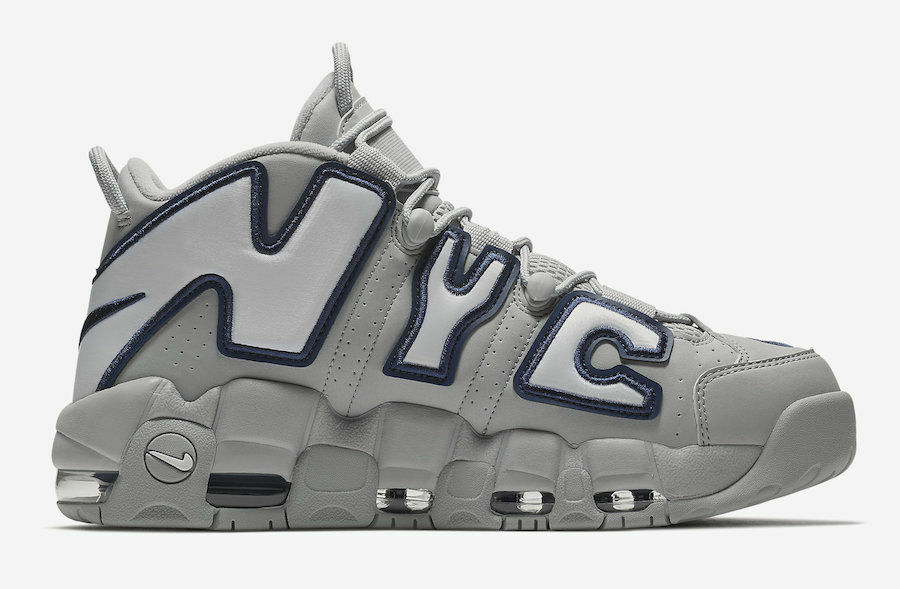 NIKE AIR MORE UPTEMPO QUICKSTRIKE NYC AJ3137-001 Men's size 8.5
