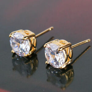 18K-Yellow-Gold-Solitaire-Stud-Earrings-317