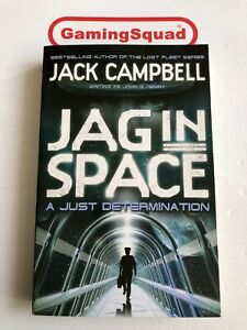 Jag-in-Space-Just-Determination-Jack-Campbell-PB-Book-Supplied-by-Gaming-Squad