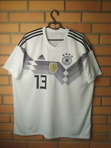 b69523f22 Germany Home football shirt #13 2018 jersey soccer Adidas size 2XL ...