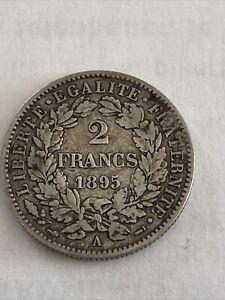 Piece 2 Franc 1895 A