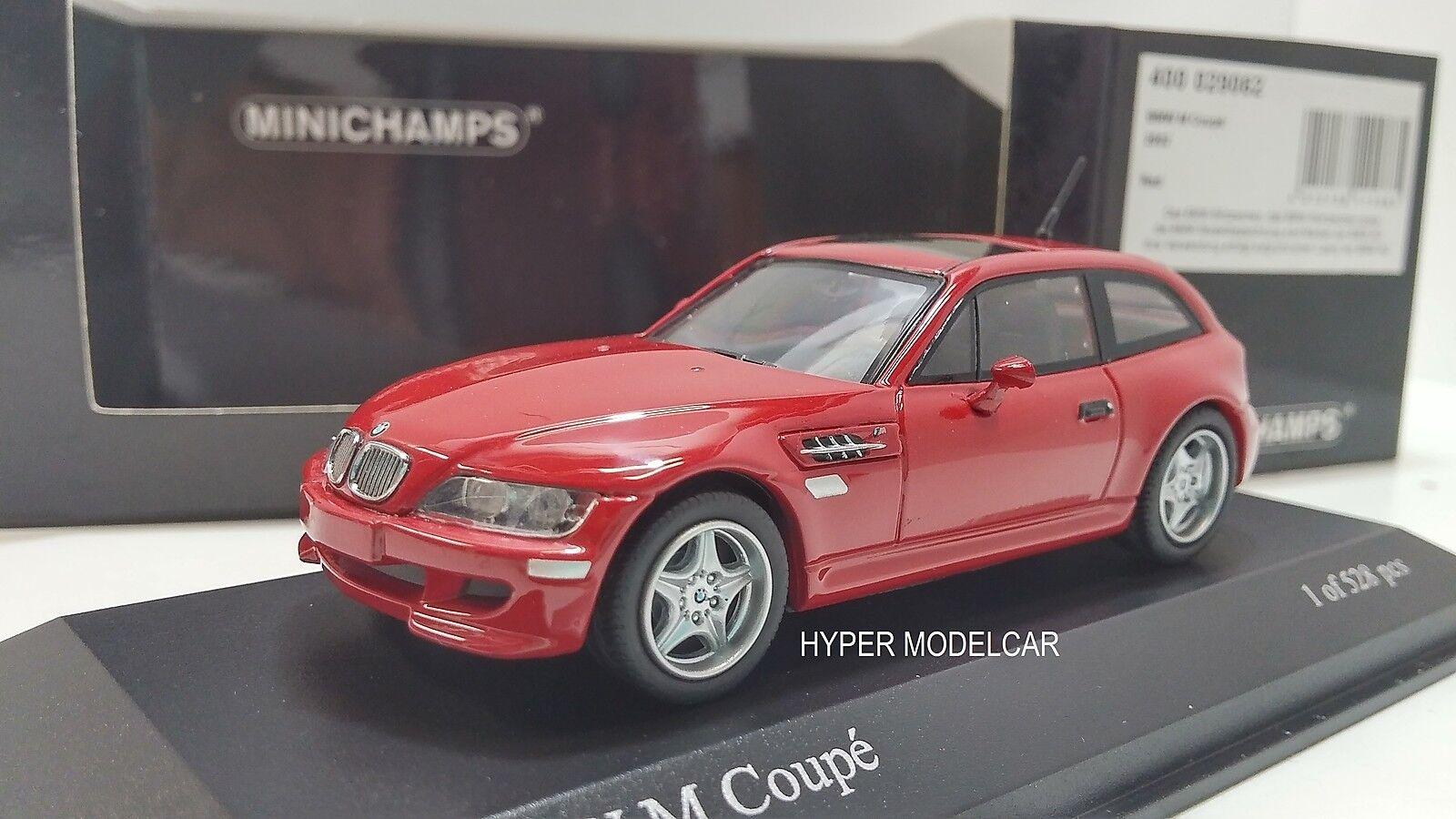 MINICHAMPS 1 43 BMW Z3 M Coupè 2002  rouge Art. 400029062