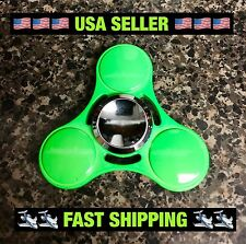 2017 NEW Metal Candy Neon Green EDC Fidget Spinner High-Quality 🇺🇸USA Seller
