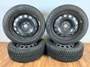 Winterreifen-Winterrader-Original-Fiat-500L-Dunlop-205-55-R16-91H-DOT2417-7-8mm