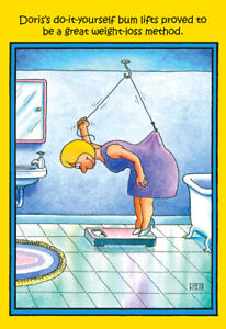 Weight Loss Method Funny Stan Eales Birthday Card Greeting Card By Nobleworks 745469052480 Ebay