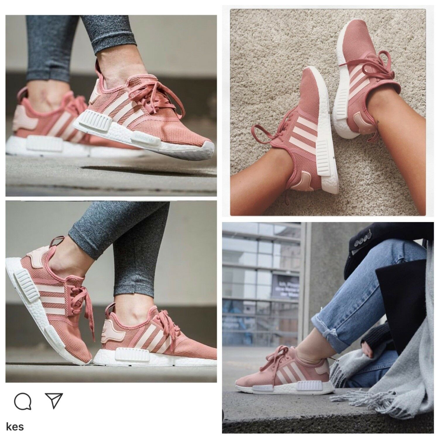 Authentic Adidas Original Nmd R1 Raw Pink Uk5 EU 38