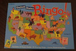 eeBoo United States Bingo Game