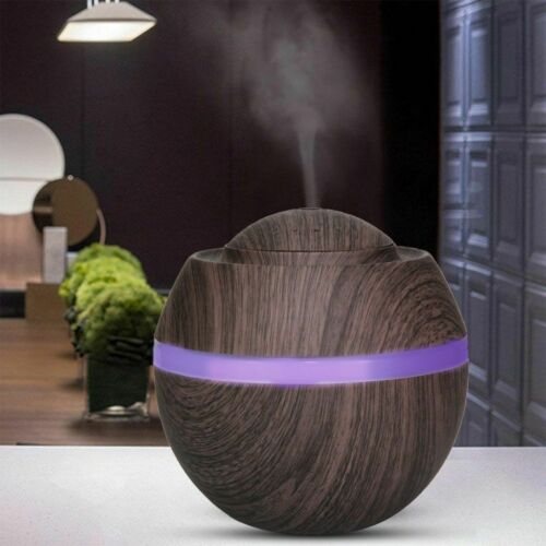 500ML Aroma Air 7 LED Essential Oil Diffuser Ultrasonic Aromatherapy Humidifier
