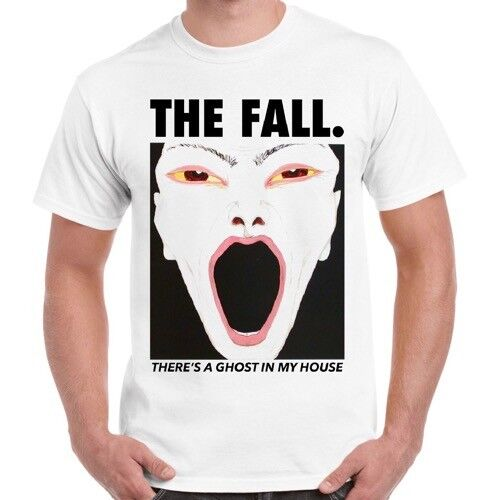 The Fall There/'s A Ghost In My House Punk Retro T Shirt 325
