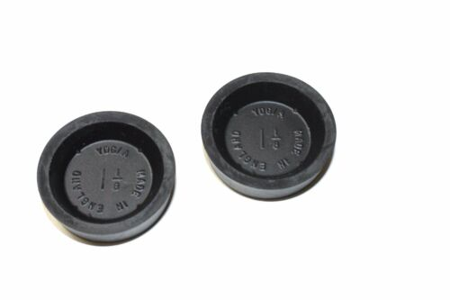 """PAIR OF UK MADE BRAKE WHEEL CYLINDER CUP SEALS 1 1//8/"""" BORE SIZE"""