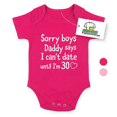 Désolé daddy Baby Body drôle babygrow