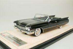 Cadillac Serie 62 Convertible 1960 Nero #043 Di Solo 109 1/43 Stamp STM60303