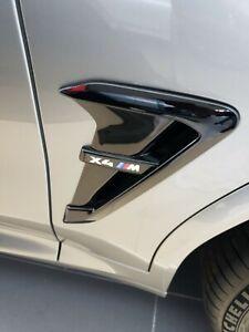 Garnitur Zierleiste Seitlich Recht BMW X4M X4 M Kotflügel Abzug 51138098094 Neu