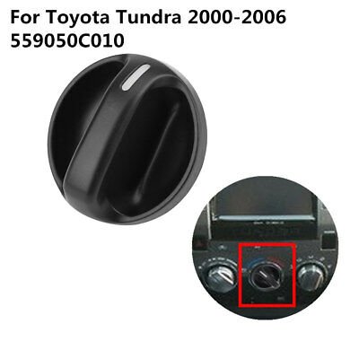 3 AC Control Knob Fan Heater Car Part Air Condition for Toyota Tundra 559050C010