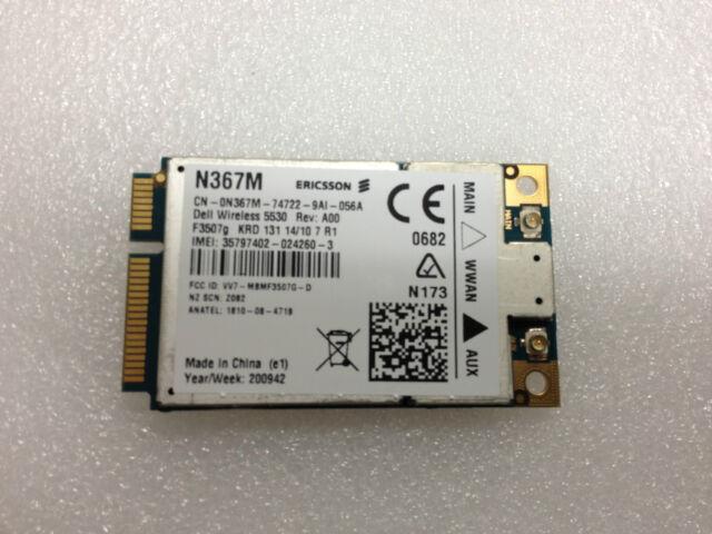 Dell Latitude E6400 Wireless 5530 HSPA Mini-Card 64 Bit